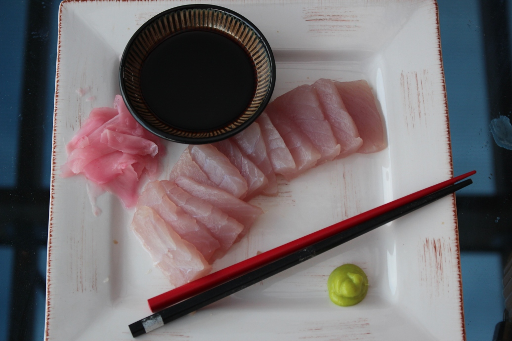Catch and make you own Sashimi.
